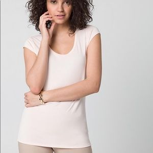 NWOT casual blush scoop neck t shirt womens